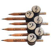 Magnetic Pencil Holder - Bass Clef