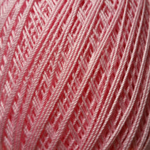 Bassoon Reed Thread Wrapping (260m, cotton) - Multi Colored / Pink