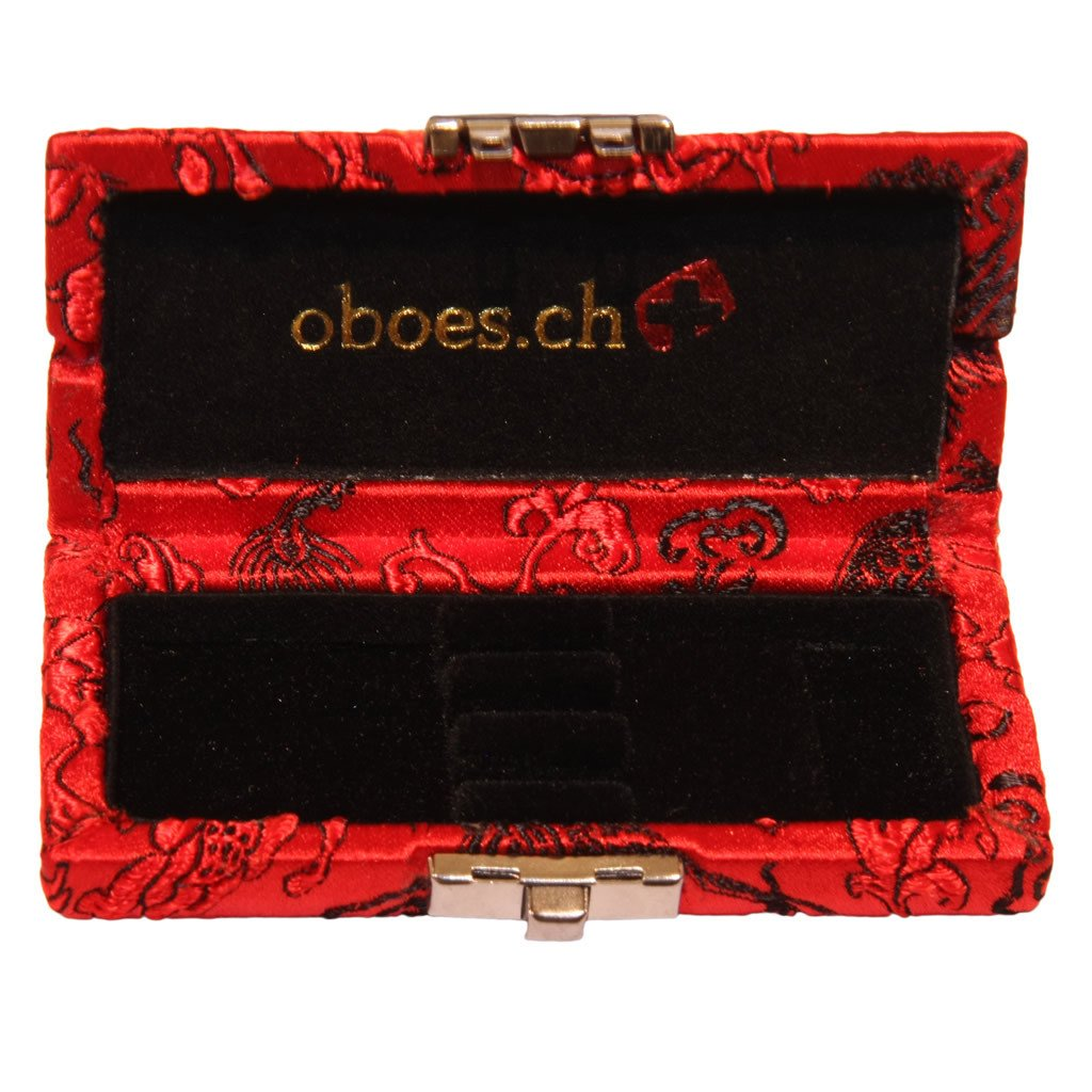 Chinese Silk Oboe Reed Case (3 Reeds)