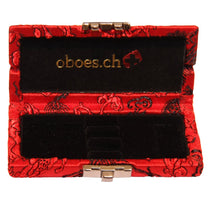 CH Chinese Silk Oboe Reed Case (3 Reeds)