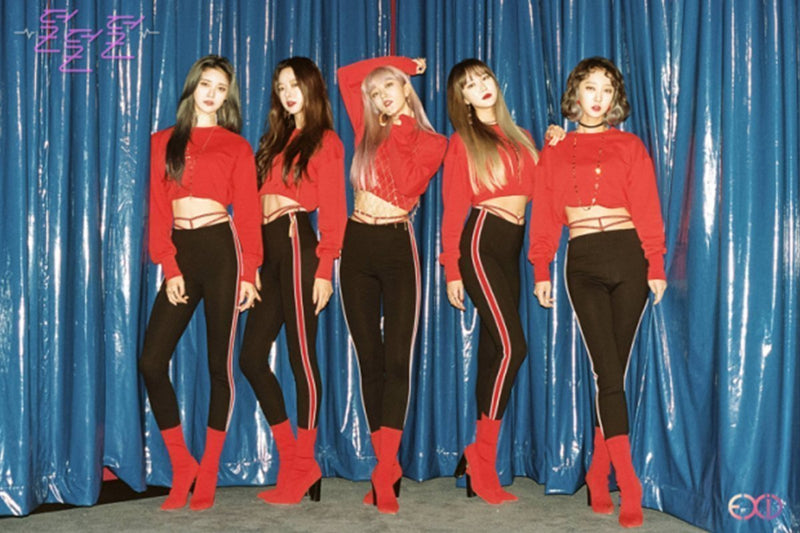 "EXID Shake the Place Up in New ""DDD"" Music Video"