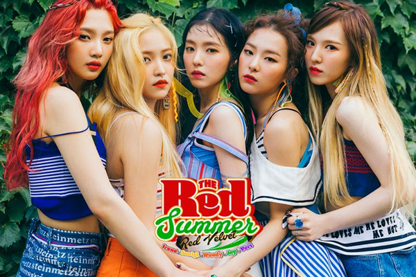 "Red Velvet Spice Up This Summer with a ""Red Flavor"" in New Music Video"