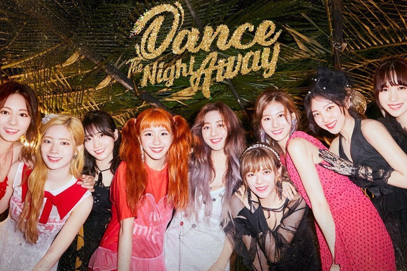 "Twice ""Dance The Night Away"" on a Dreamy Vacation Island in New Music Video"