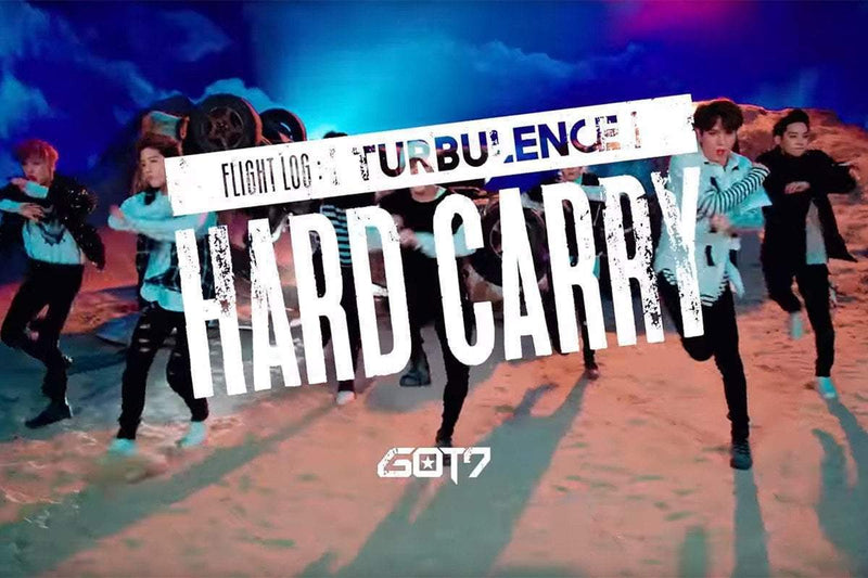 "GOT7 Release Music Video Teasers for ""Hard Carry"""