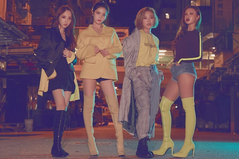 "Mamamoo Become Like a ""Wind Flower"" in the Midst of the Big City in New Music Video"