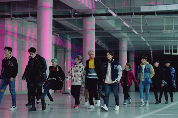 "Seventeen Go on a Mission in ""Boom Boom"" Music Video"