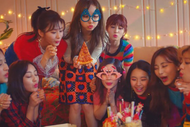 "Twice Celebrate a ""Merry & Happy"" Christmas Party in New Music Video"
