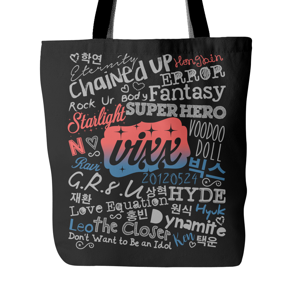 "VIXX ""COLLAGE"" 2016 Tote Bags - MYKPOPMART"