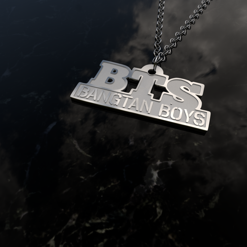 BTS Necklaces - MYKPOPMART