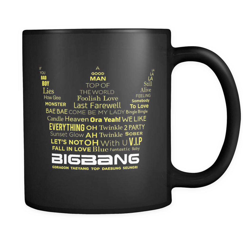 "BIG BANG ""CROWN"" Drinkware - MYKPOPMART"