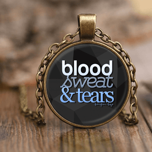 "BTS ""BLOOD SWEAT & TEARS"" Necklaces - MYKPOPMART"