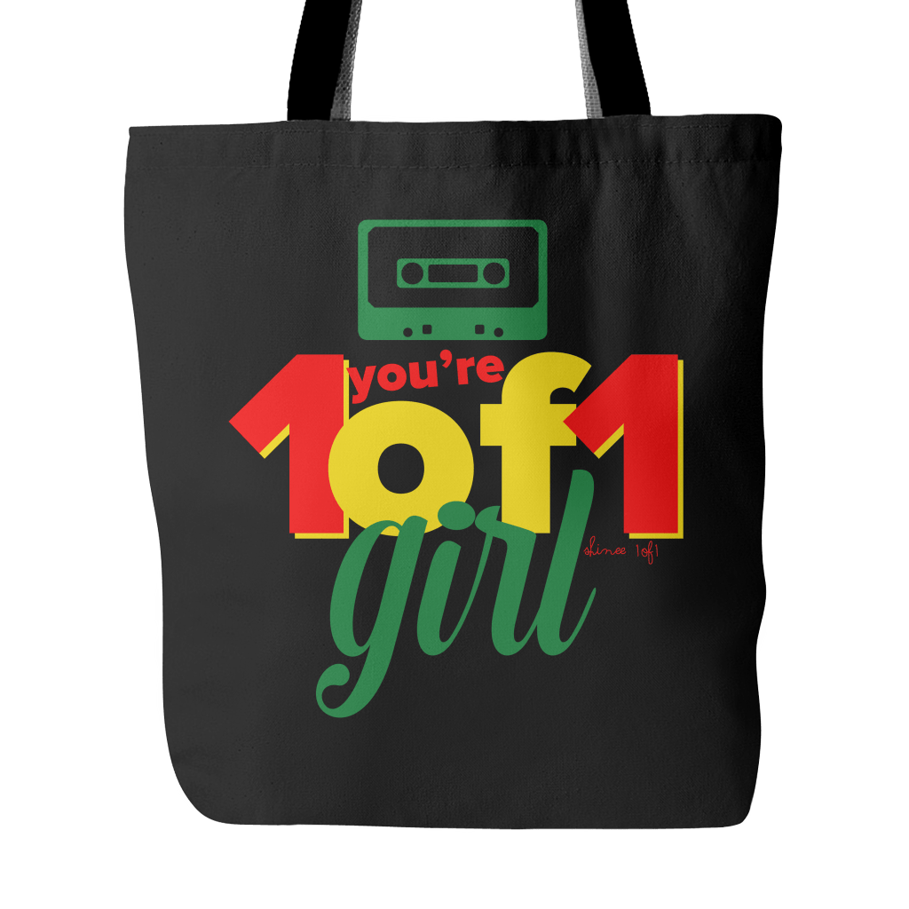 "SHINee ""1of1"" Tote Bags - MYKPOPMART"