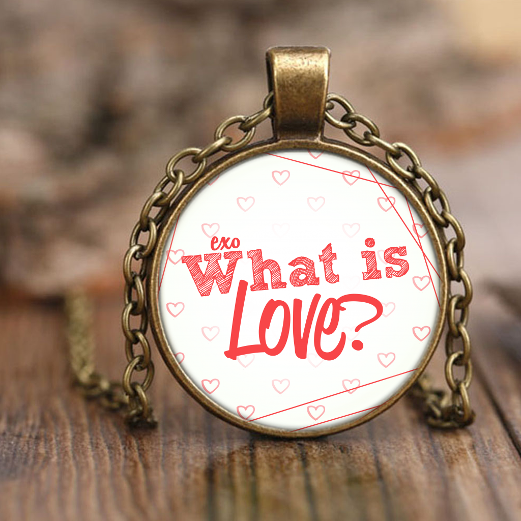"EXO ""WHAT IS LOVE"" Necklaces - MYKPOPMART"
