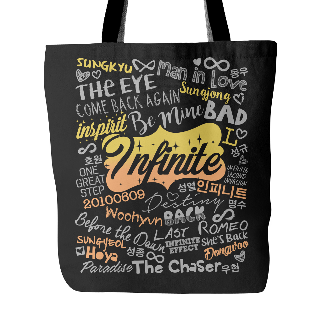 "INFINITE ""COLLAGE"" 2016 Tote Bags - MYKPOPMART"