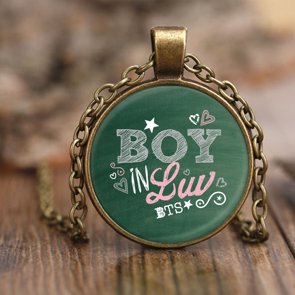 "BTS ""BOY IN LUV"" Necklaces - MYKPOPMART"