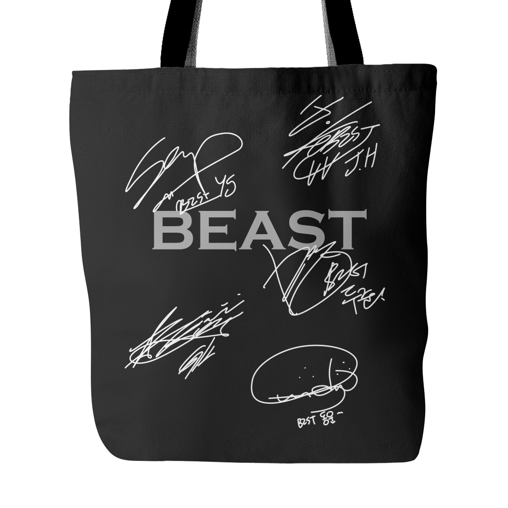 "BEAST ""AUTOGRAPH"" Tote Bags - MYKPOPMART"