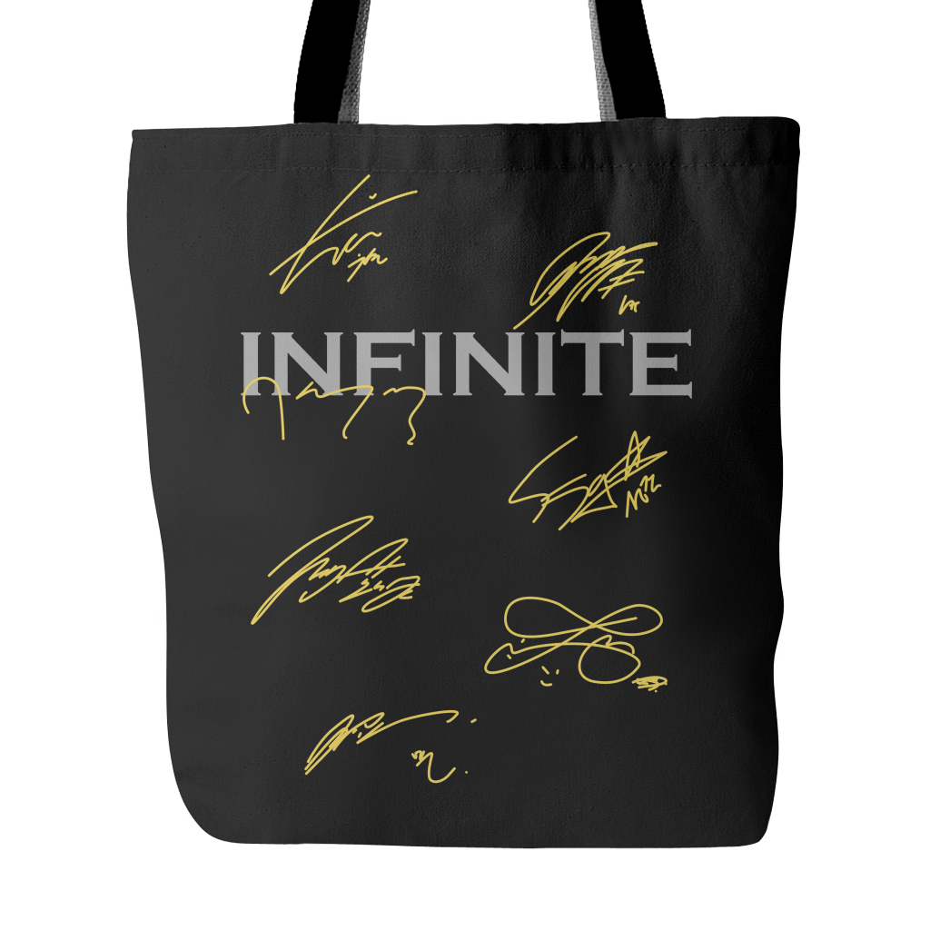 "INFINITE ""AUTOGRAPH"" Tote Bags - MYKPOPMART"