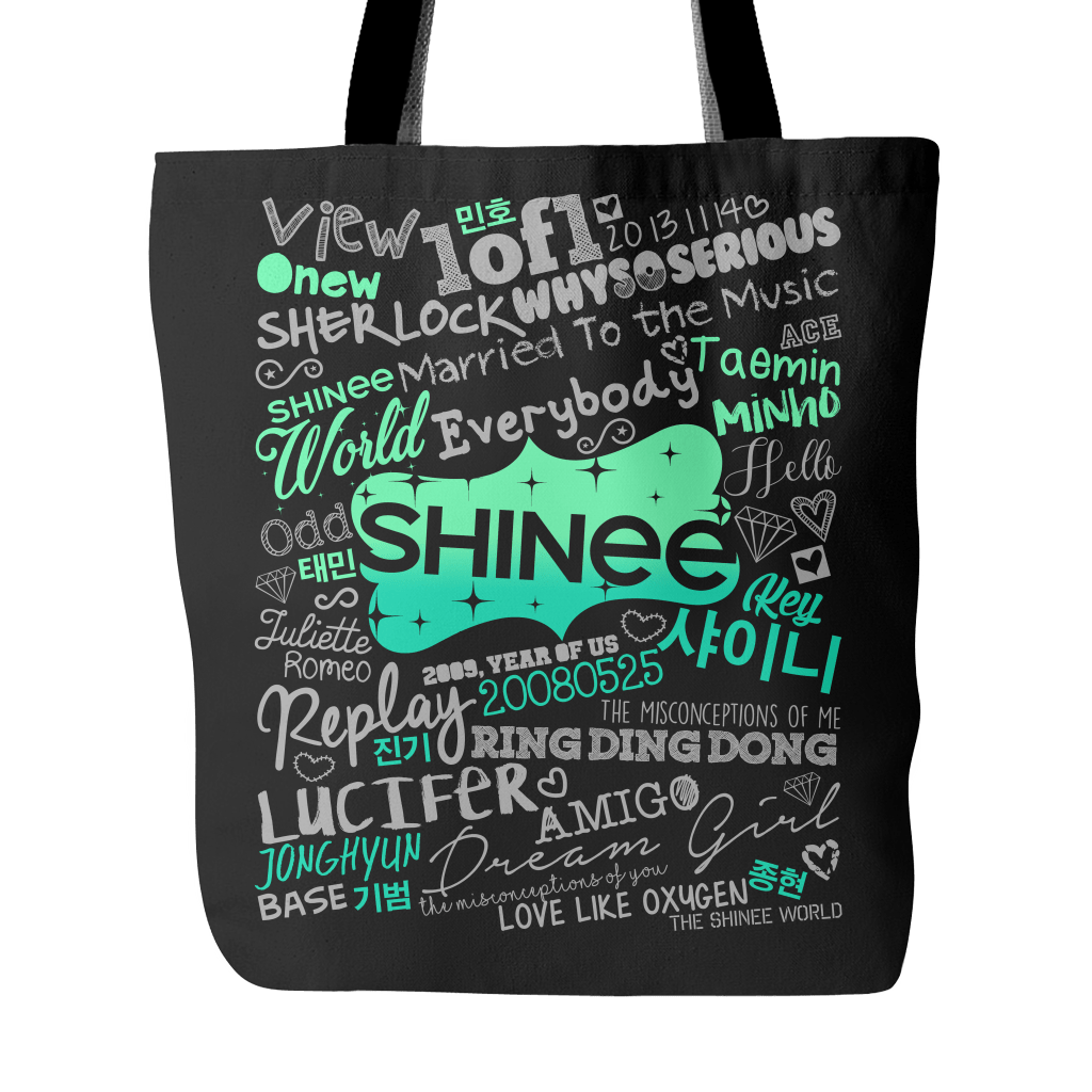"SHINee ""COLLAGE"" 2016 Tote Bags - MYKPOPMART"