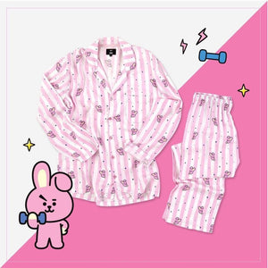 "BT21 ""COOKY"" PYJAMA SET Clothing - MYKPOPMART"