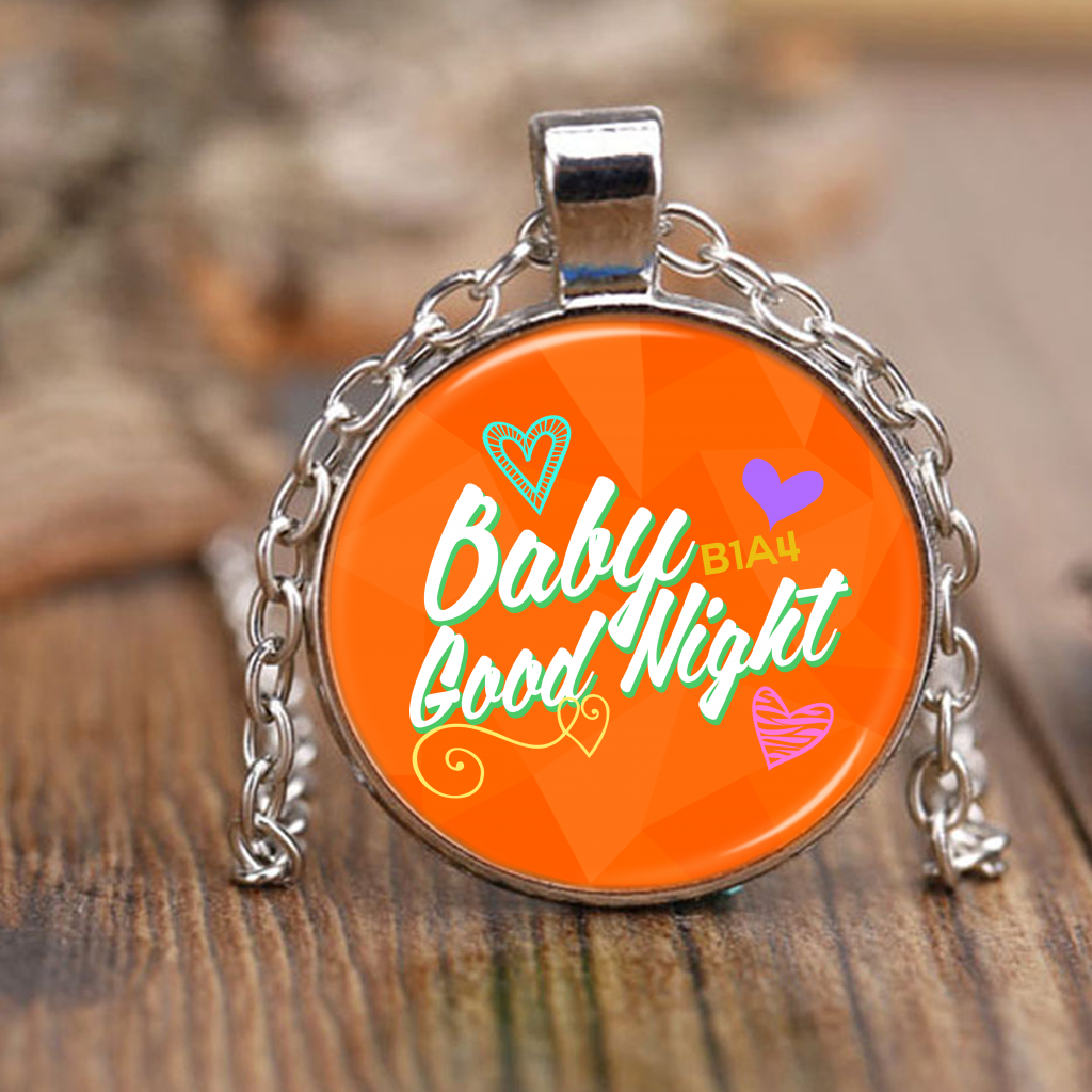 "B1A4 ""BABY GOOD NIGHT"" Necklaces - MYKPOPMART"