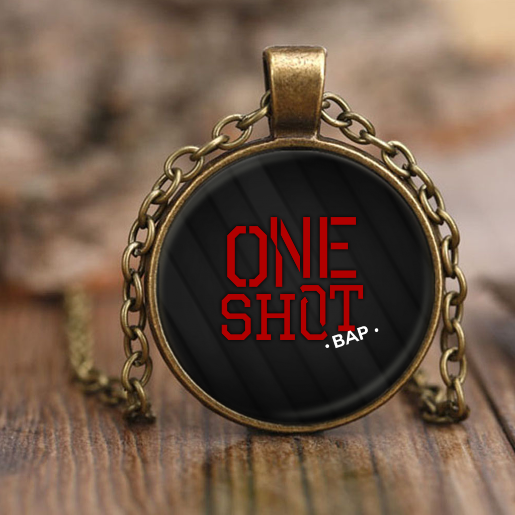 "B.A.P ""ONE SHOT"" Necklaces - MYKPOPMART"