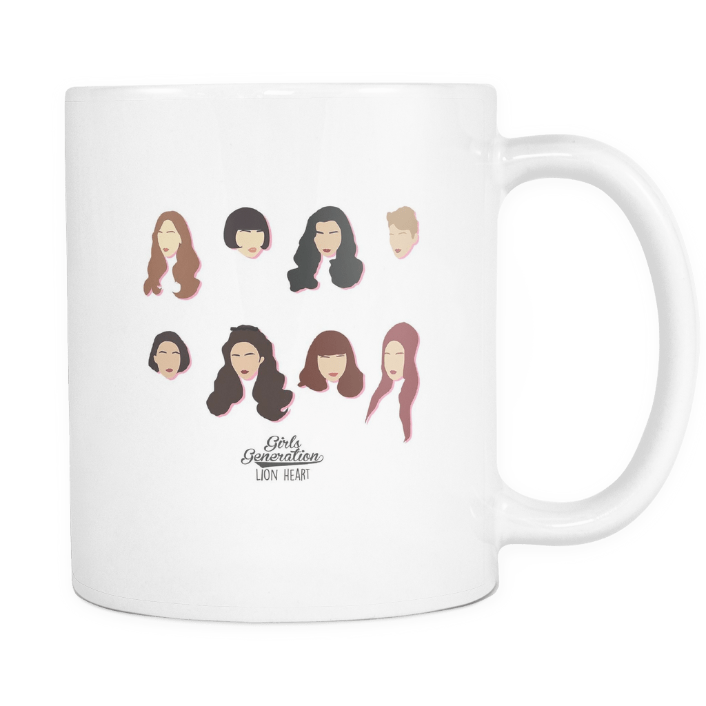 "GIRLS' GENERATION ""LION HEART"" Drinkware - MYKPOPMART"
