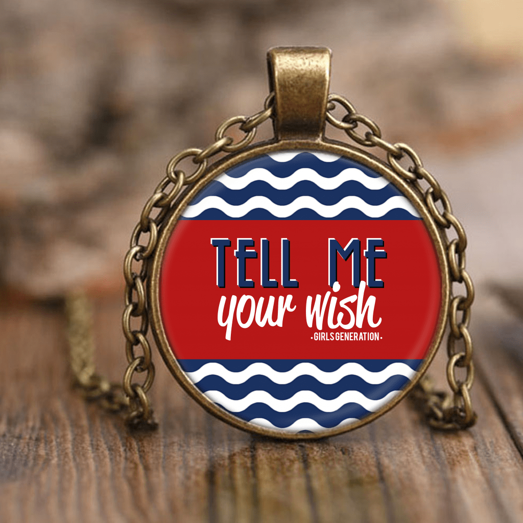 "GIRLS' GENERATION ""TELL ME YOUR WISH"" Necklaces - MYKPOPMART"