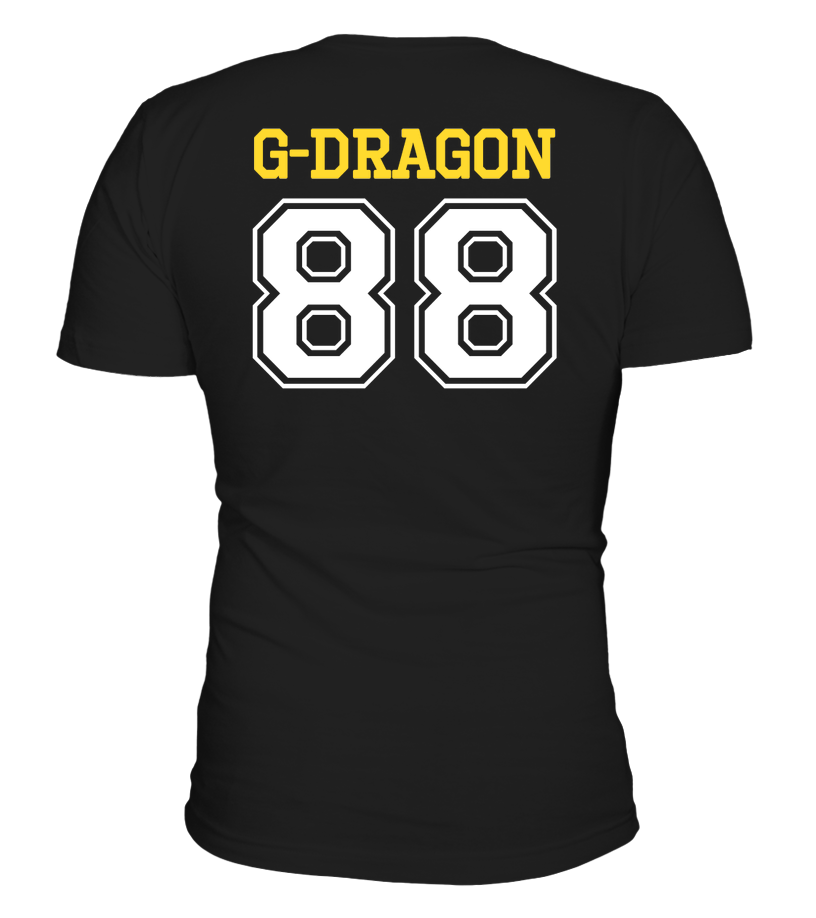 "BIG BANG ""G-DRAGON"" JERSEY Clothing - MYKPOPMART"