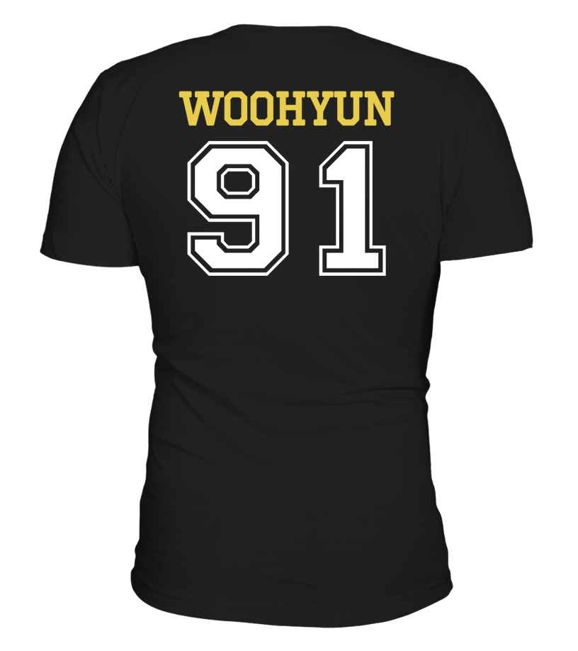 "INFINITE ""WOOHYUN"" JERSEY Clothing - MYKPOPMART"