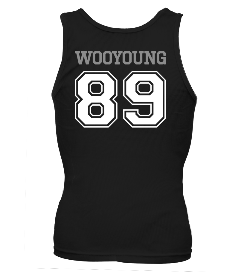 "2PM ""WOOYOUNG"" JERSEY"