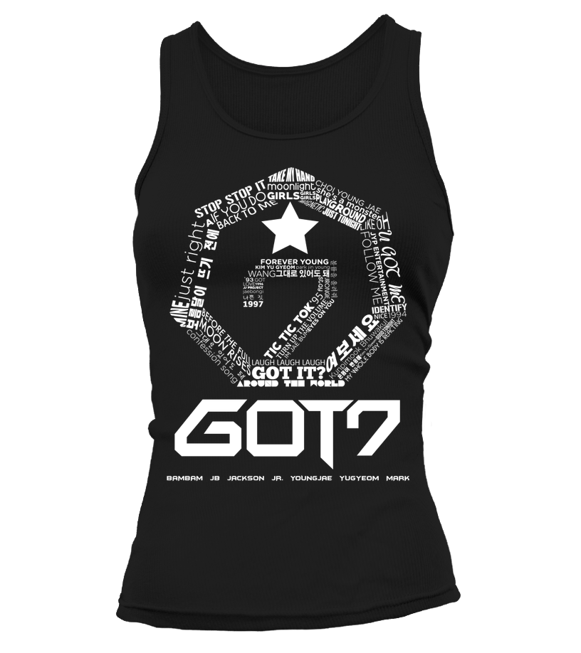 "GOT7 ""LOGO"" Clothing - MYKPOPMART"