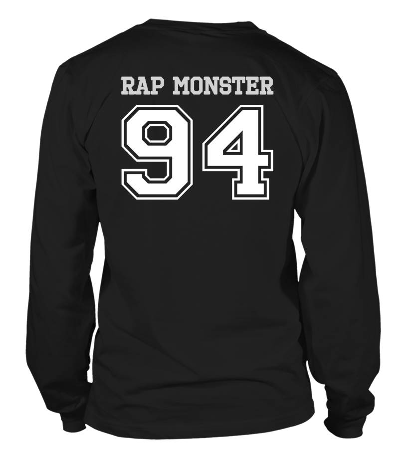 "BTS ""RAP MONSTER"" JERSEY Clothing - MYKPOPMART"