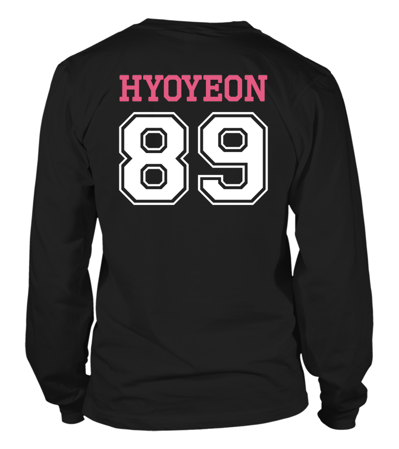 "GIRLS' GENERATION ""HYOYEON"" JERSEY Clothing - MYKPOPMART"