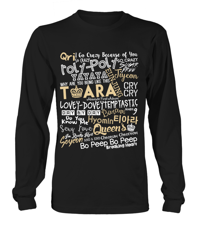 "T-ARA ""COLLAGE"" Clothing - MYKPOPMART"