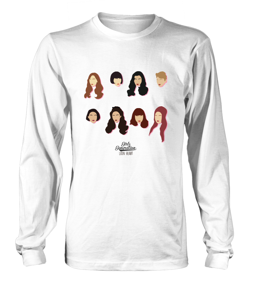 "GIRLS' GENERATION ""LION HEART"" Clothing - MYKPOPMART"