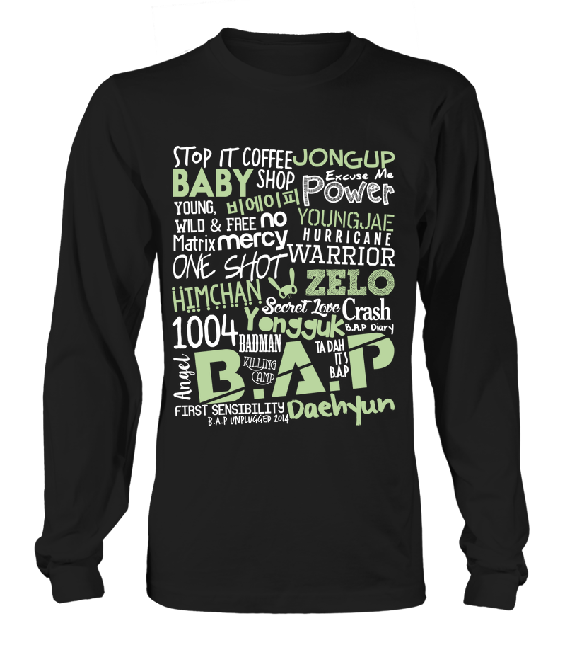 "B.A.P ""COLLAGE"" Clothing - MYKPOPMART"