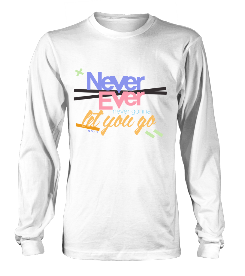 "GOT7 ""NEVER EVER"" Clothing - MYKPOPMART"