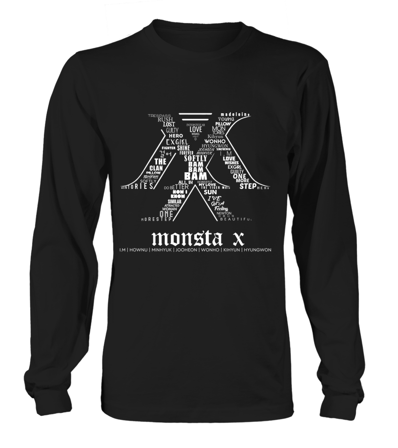 "MONSTA X ""LOGO"" Clothing - MYKPOPMART"