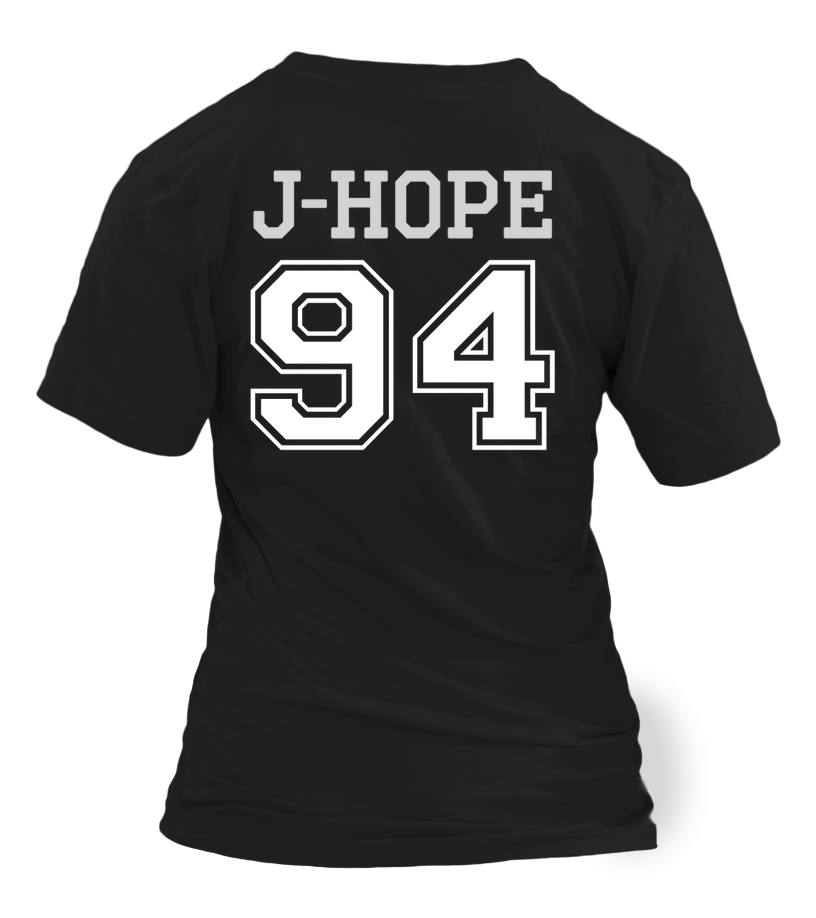 "BTS ""J-HOPE"" JERSEY Clothing - MYKPOPMART"
