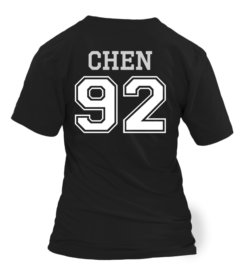 "EXO ""CHEN"" JERSEY Clothing - MYKPOPMART"