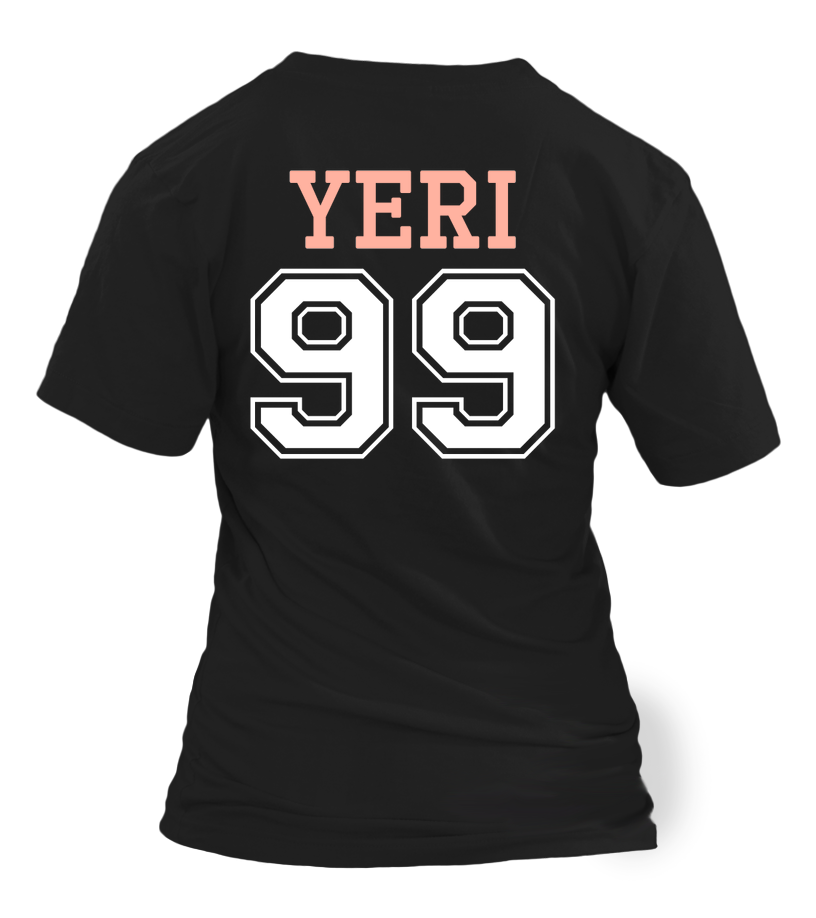 "RED VELVET ""YERI"" JERSEY Clothing - MYKPOPMART"