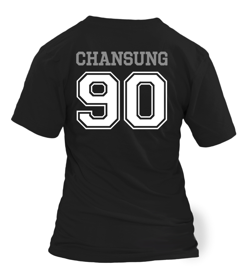 "2PM ""CHANSUNG"" JERSEY"