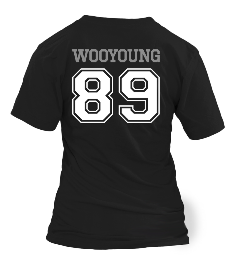"2PM ""WOOYOUNG"" JERSEY Clothing - MYKPOPMART"