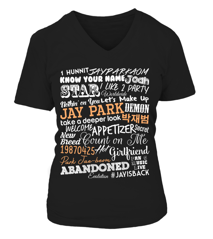 "JAY PARK ""COLLAGE"" Clothing - MYKPOPMART"