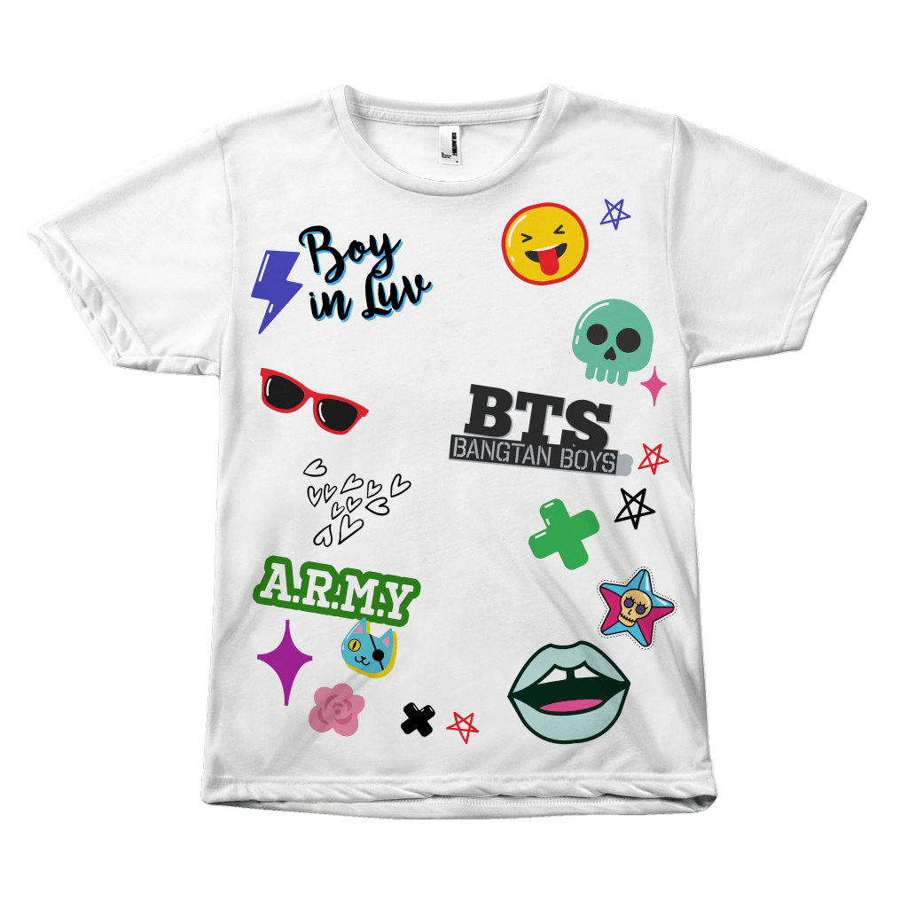 "BTS ""iCONS"" Clothing - MYKPOPMART"