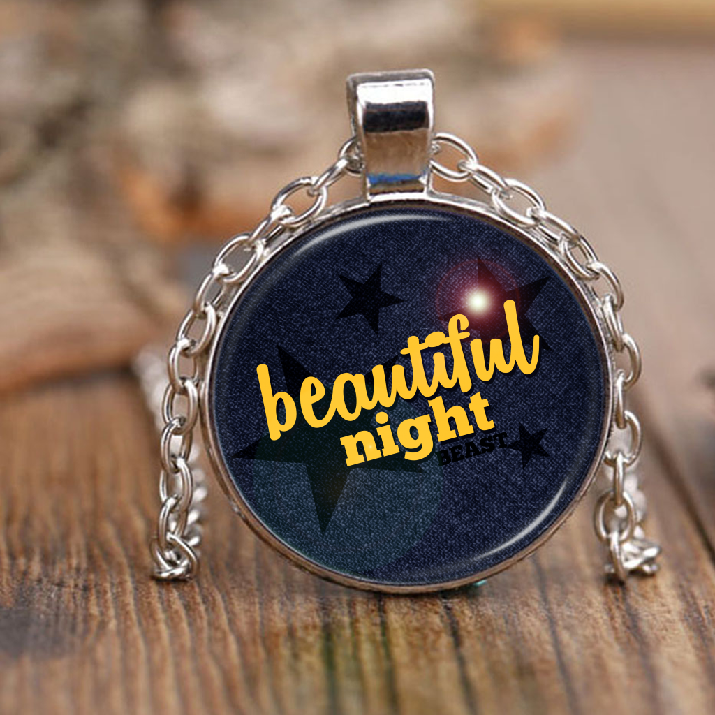 "BEAST ""BEAUTIFUL NIGHT"" Necklaces - MYKPOPMART"