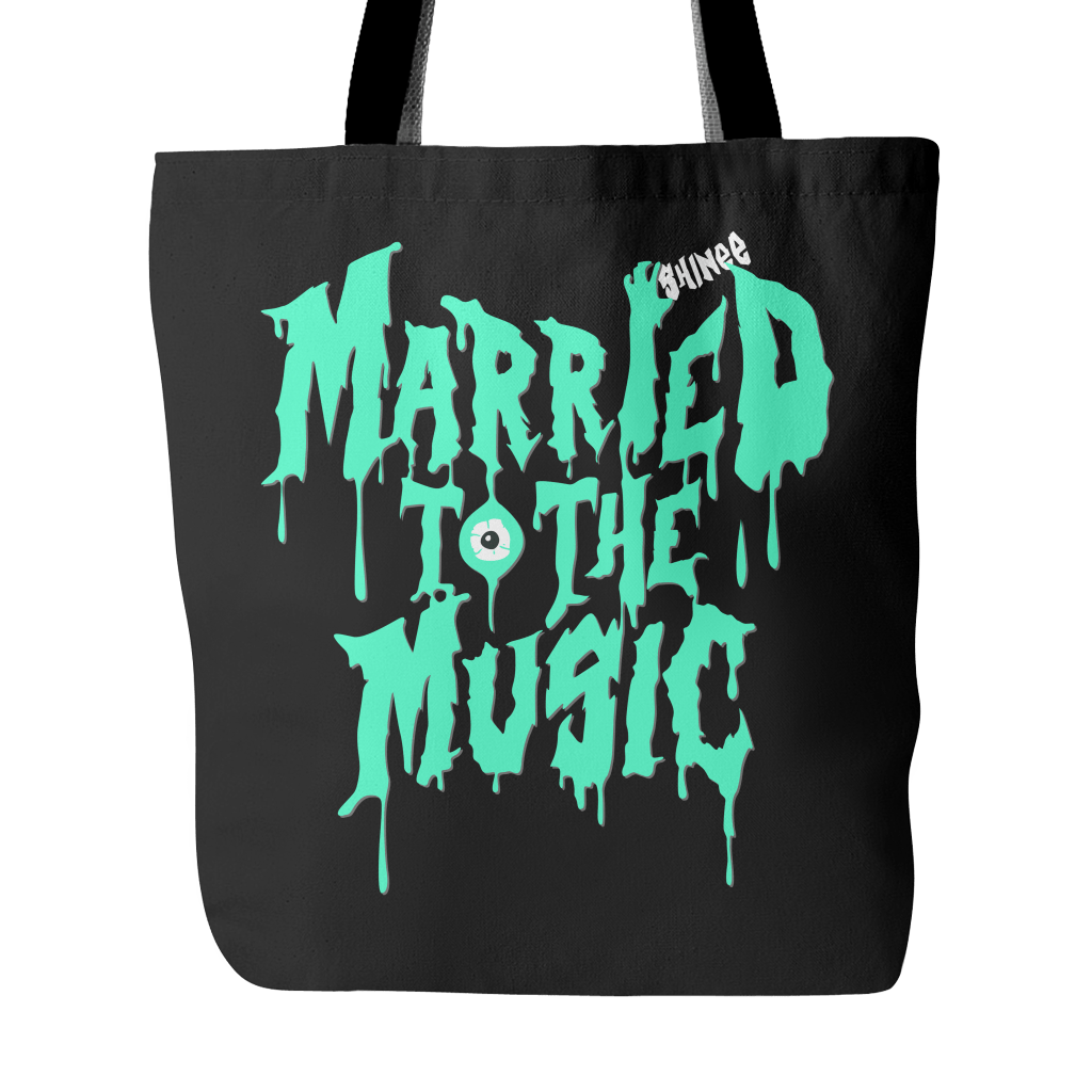 "SHINee ""MARRIED TO THE MUSIC"" Tote Bags - MYKPOPMART"