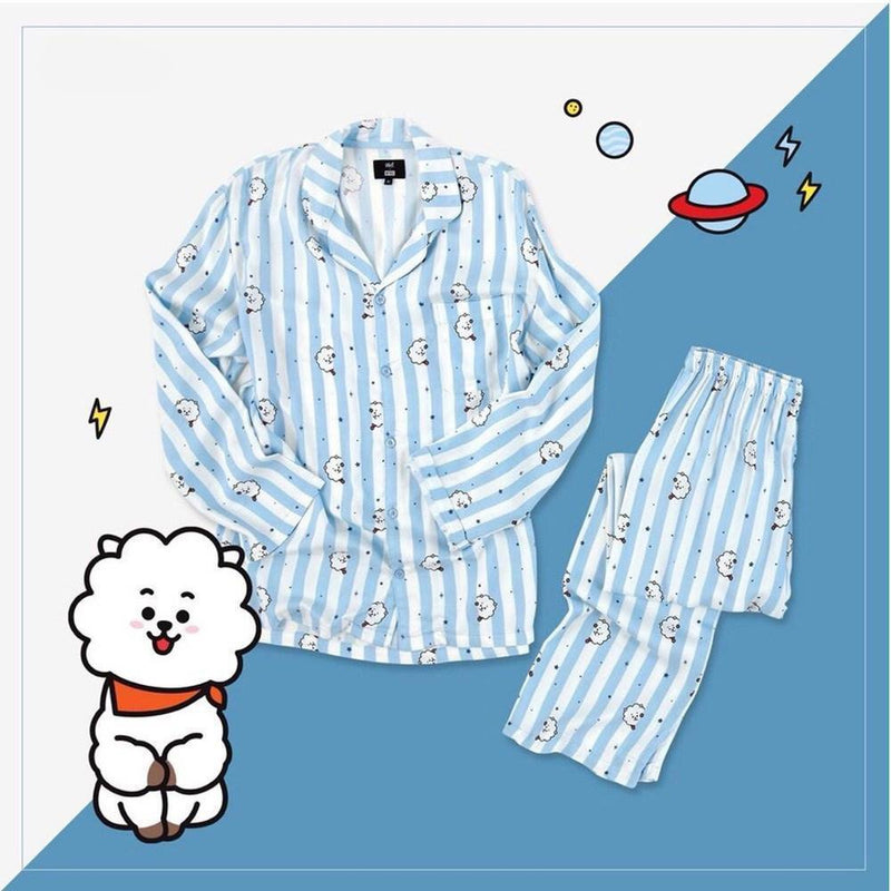 "BT21 ""RJ"" PYJAMA SET Clothing - MYKPOPMART"