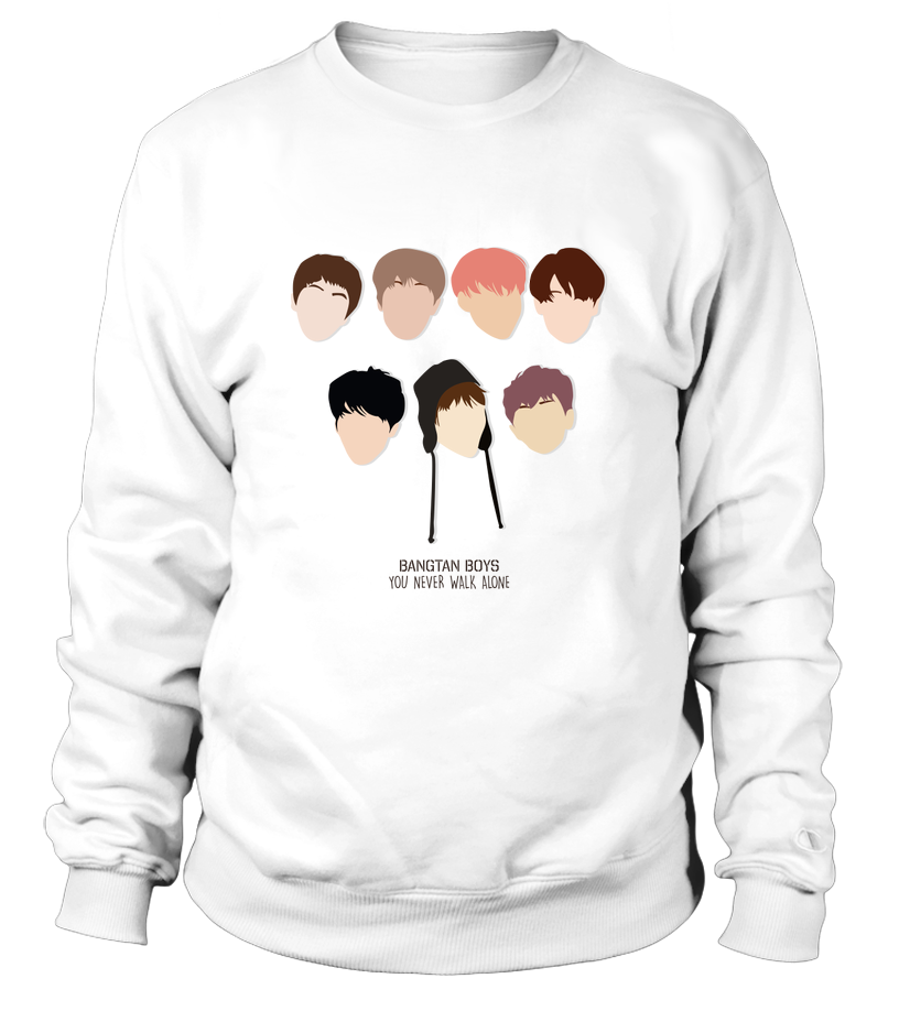 "BTS ""YOU NEVER WALK ALONE"" Clothing - MYKPOPMART"