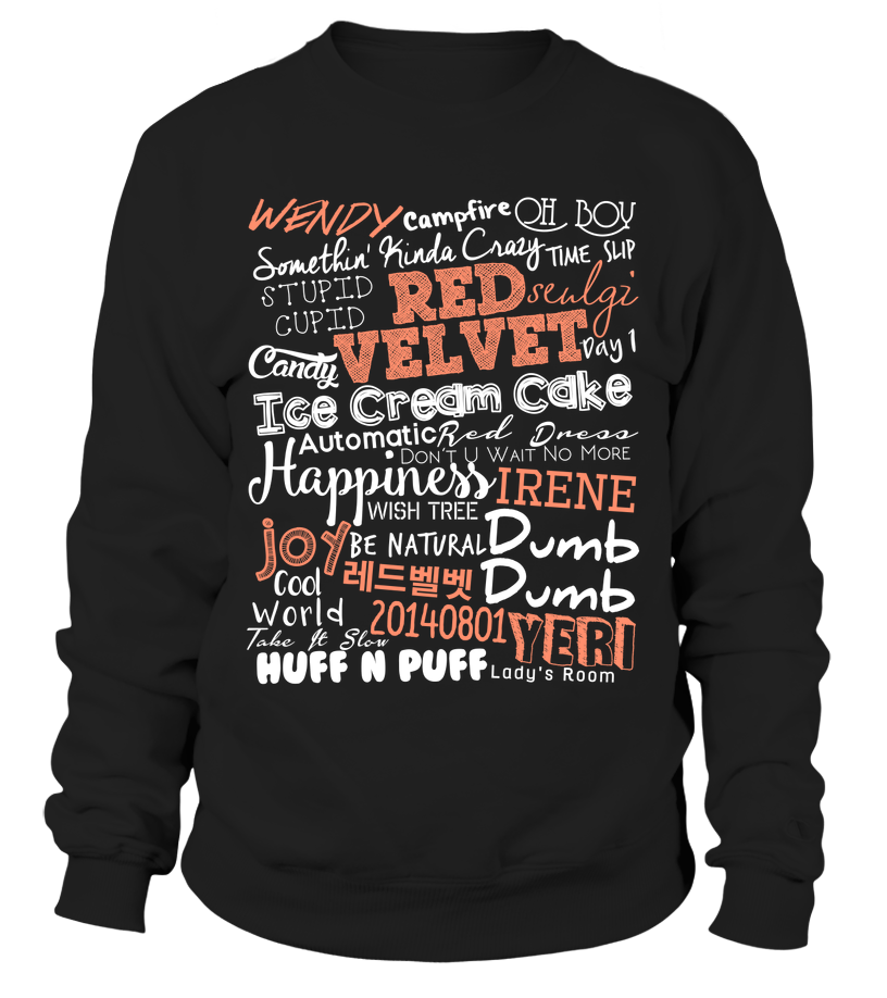 "RED VELVET ""COLLAGE"" Clothing - MYKPOPMART"
